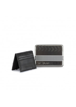 MEN'S WALLET VIP FLAP | INDUSTRIAL DOT BLACK