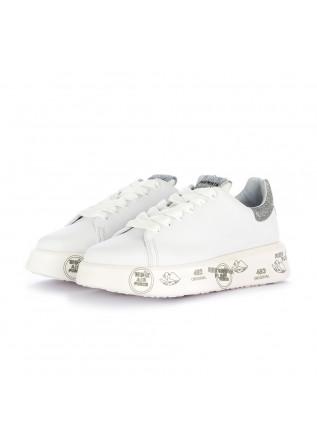 women's sneakers premiata belle white