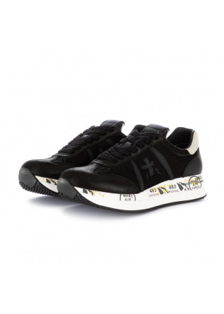 sneakers donna conny premiata nero