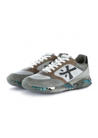 men's sneakers zaczac premiata grey brown