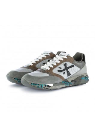 men's sneakers zaczac premiata grey brown