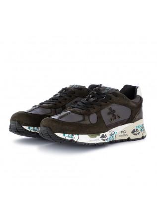 sneakers uomo mase premiata verde grigio