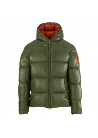 men's jacket save the duck lucky green