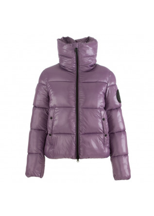 women's jacket save the duck lucky purple