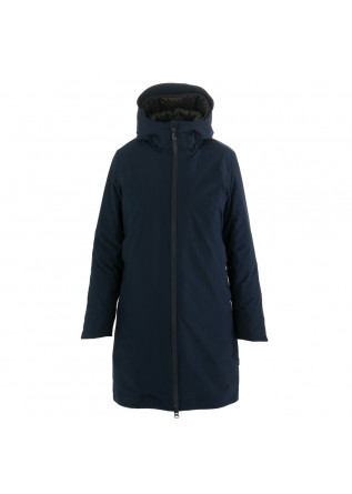 women's puffer jacket save the duck griny blue