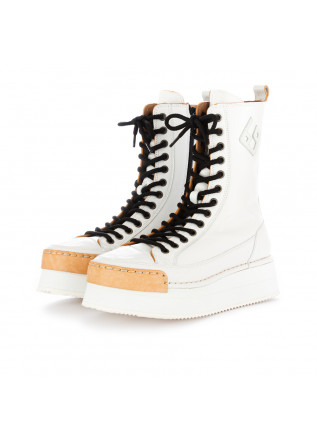 WOMEN'S BOOTS BNG REAL SHOES | WHITE LEATHER