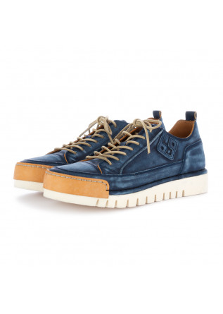 herren flache schuhe bng real shoes blau