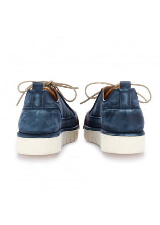MEN'S FLAT SHOES BNG REAL SHOES | BLUE HANDMADE