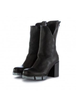 women's boots papucei boston black leather