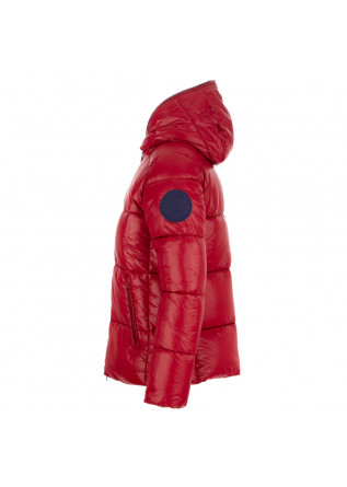 """WOMEN'S PUFFER JACKET SAVE THE DUCK """"LUCKY""""   RED"""