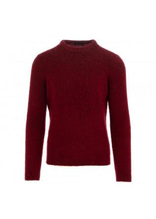 maglione uomo roberto collina rosso scuro