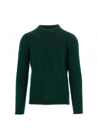 herren pullover roberto collina dunkelgrün