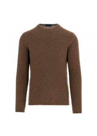 maglione uomo roberto collina marrone