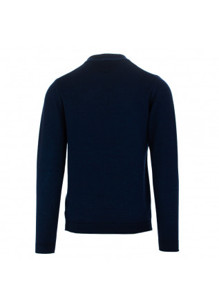 MEN'S SWEATER WOOL & CO | DARK BLUE WOOL