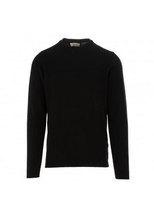 maglione uomo wool and co nero cachemire lana