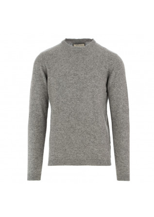 men's sweater wool and co grey cashmere wool