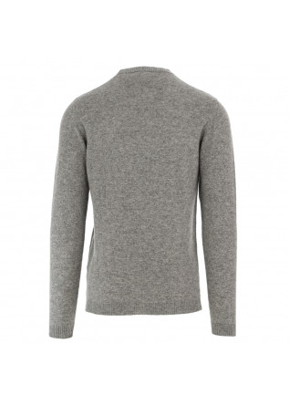 MEN'S SWEATER WOOL & CO | GREY CASHMERE WOOL
