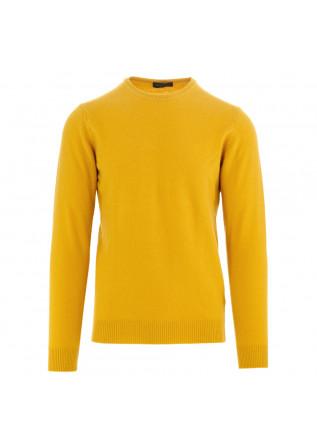 herren pullover daniele fiesoli gelb wolle