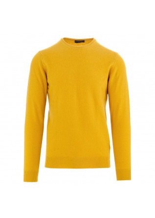 men's sweater daniele fiesoli yellow wool