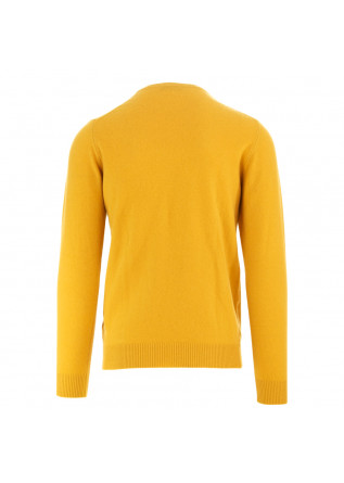 MEN'S SWEATER DANIELE FIESOLI | YELLOW WOOL