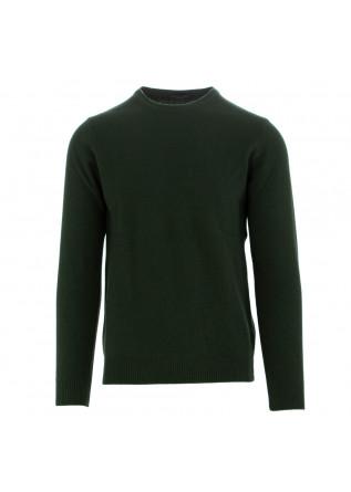 maglione uomo daniele fiesoli verde scuro lana