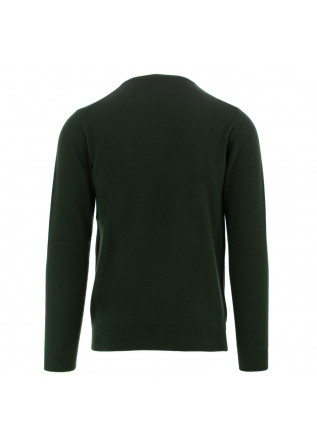 MEN'S SWEATER DANIELE FIESOLI | DARK GREEN WOOL