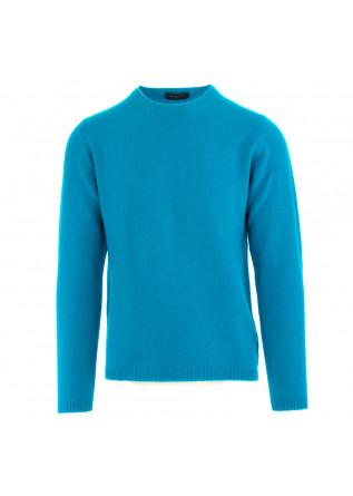 maglione uomo daniele fiesoli azzurro lana