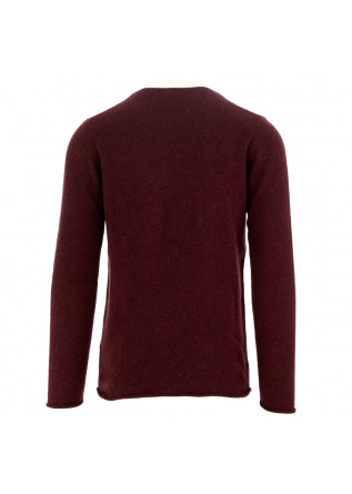 MEN'S SWEATER DANIELE FIESOLI | BORDEAUX ALPACA
