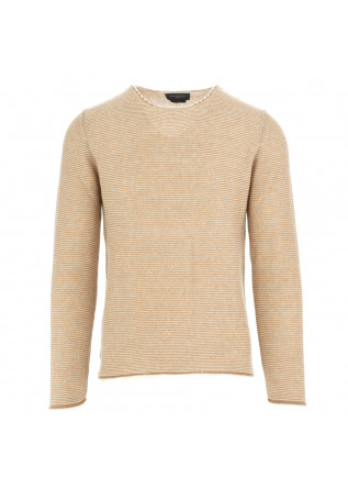men's sweater daniele fiesoli white beige