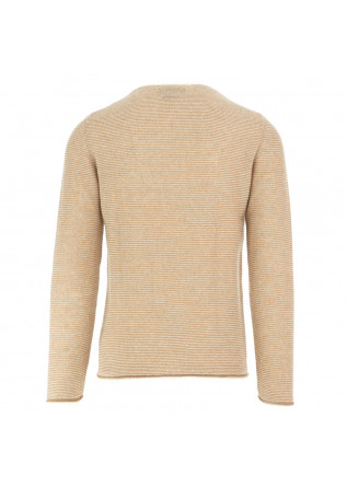 MEN'S SWEATER DANIELE FIESOLI | WHITE BEIGE ALPACA