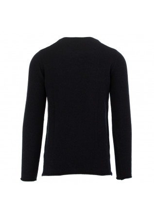 MEN'S SWEATER DANIELE FIESOLI | DARK BLUE ALPACA