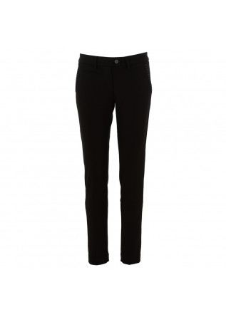 "pantaloni donna ""new york slim"" mason's nero"