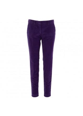 pantaloni donna viola mason's