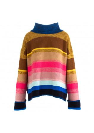 maglione donna semicouture multicolore
