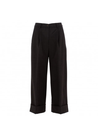 women's palazzo trousers semicouture grey