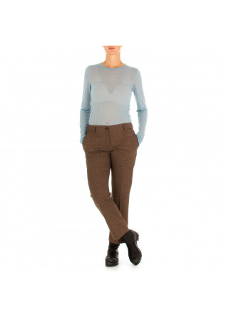 WOMEN'S TROUSERS SEMICOUTURE | BROWN PINK