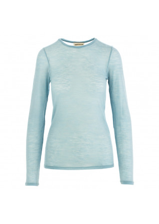 women's sweater semicouture light blue