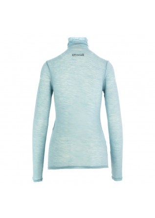 WOMEN'S TURTLENECK SEMICOUTURE | LIGHT BLUE