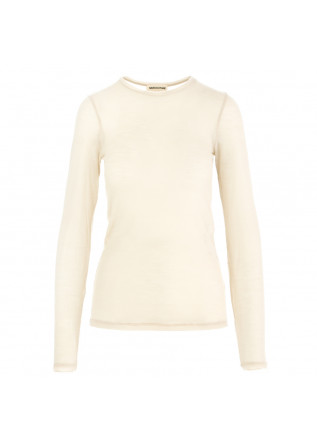 women's sweater semicouture light beige