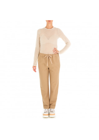 WOMEN'S SWEATER SEMICOUTURE | LIGHT BEIGE