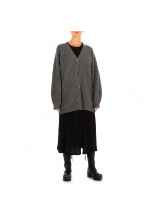WOMEN'S CARDIGAN SEMICOUTURE | GREY