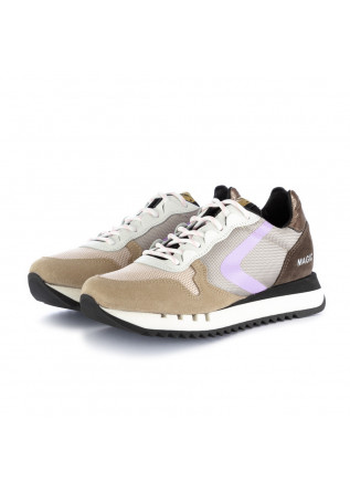 women's sneakers valsport magic trekk beige pink