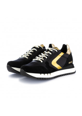women's sneakers valsport magic trekk black gold