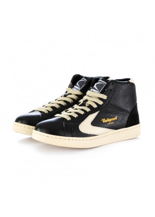 sneakers donna valsport tournament mid nero beige