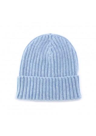 berretto riviera cashmere azzurro