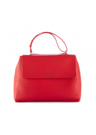 women's shoulder bag orciani sveva soft red