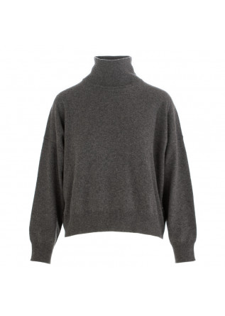 WOMEN'S TURTLENECK SWEATER SEMICOUTURE | GREY