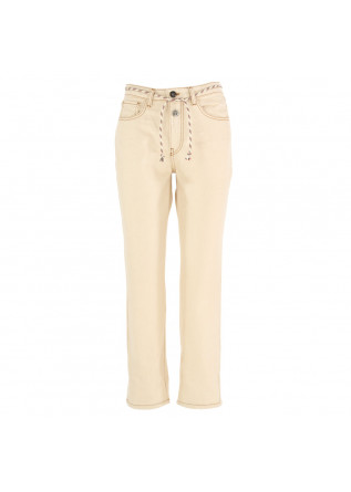 women's jeans semicouture beige