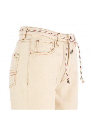 WOMEN'S JEANS SEMICOUTURE | BEIGE COTTON