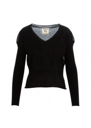 maglioncino donna semicouture nero lana